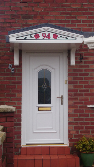 Upvc front doors sunderland for Upvc front doors fitted
